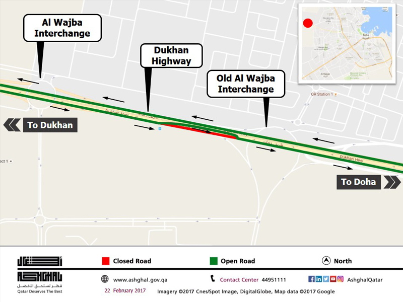 Minor Diversion on Dukhan Highway to Complete Finishing Works