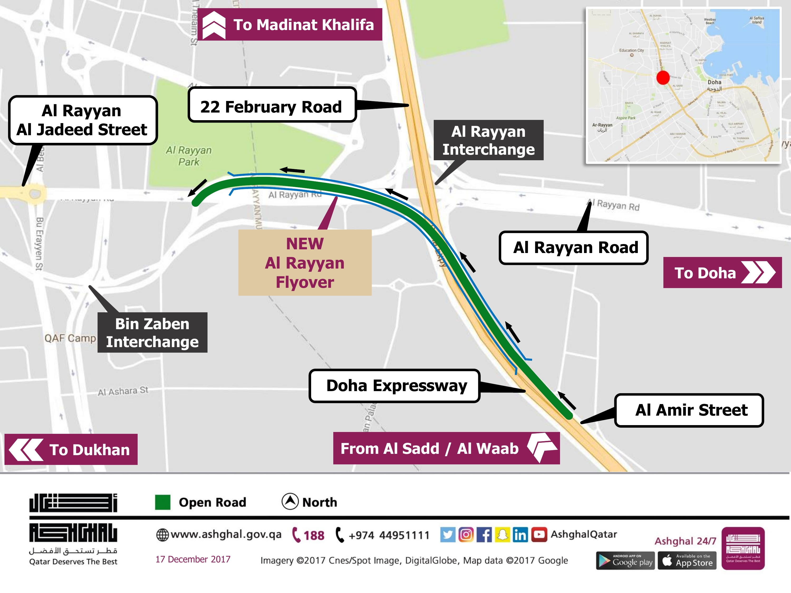 Opening new sections of Expressway Network ahead of National Day
