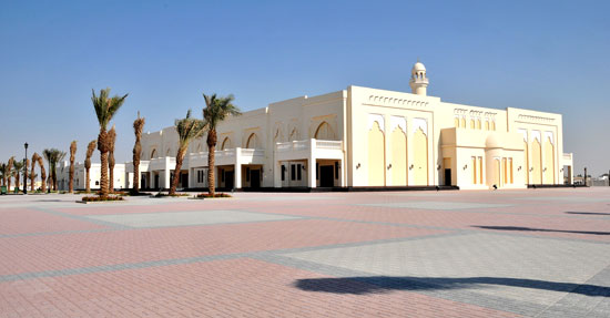 Construction of Islamic Centre at Ain Khalid