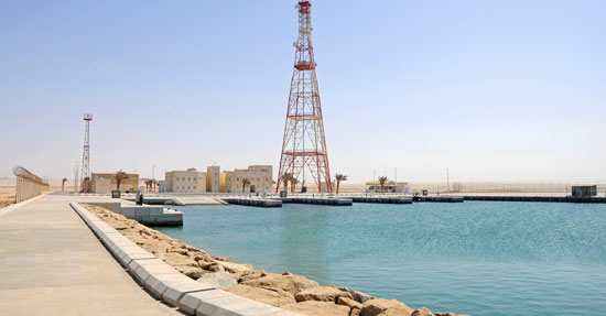 Construction of Coast Guard Stations at Ras Abrouq and Umm Bab